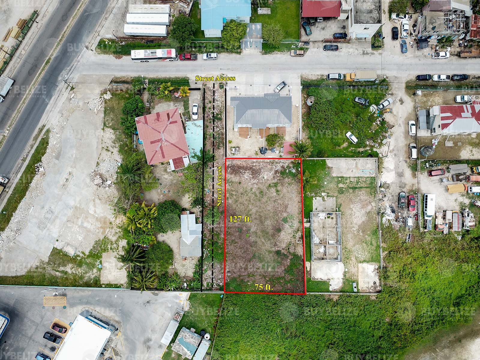 Prime Commercial Property for Rent in Belize City