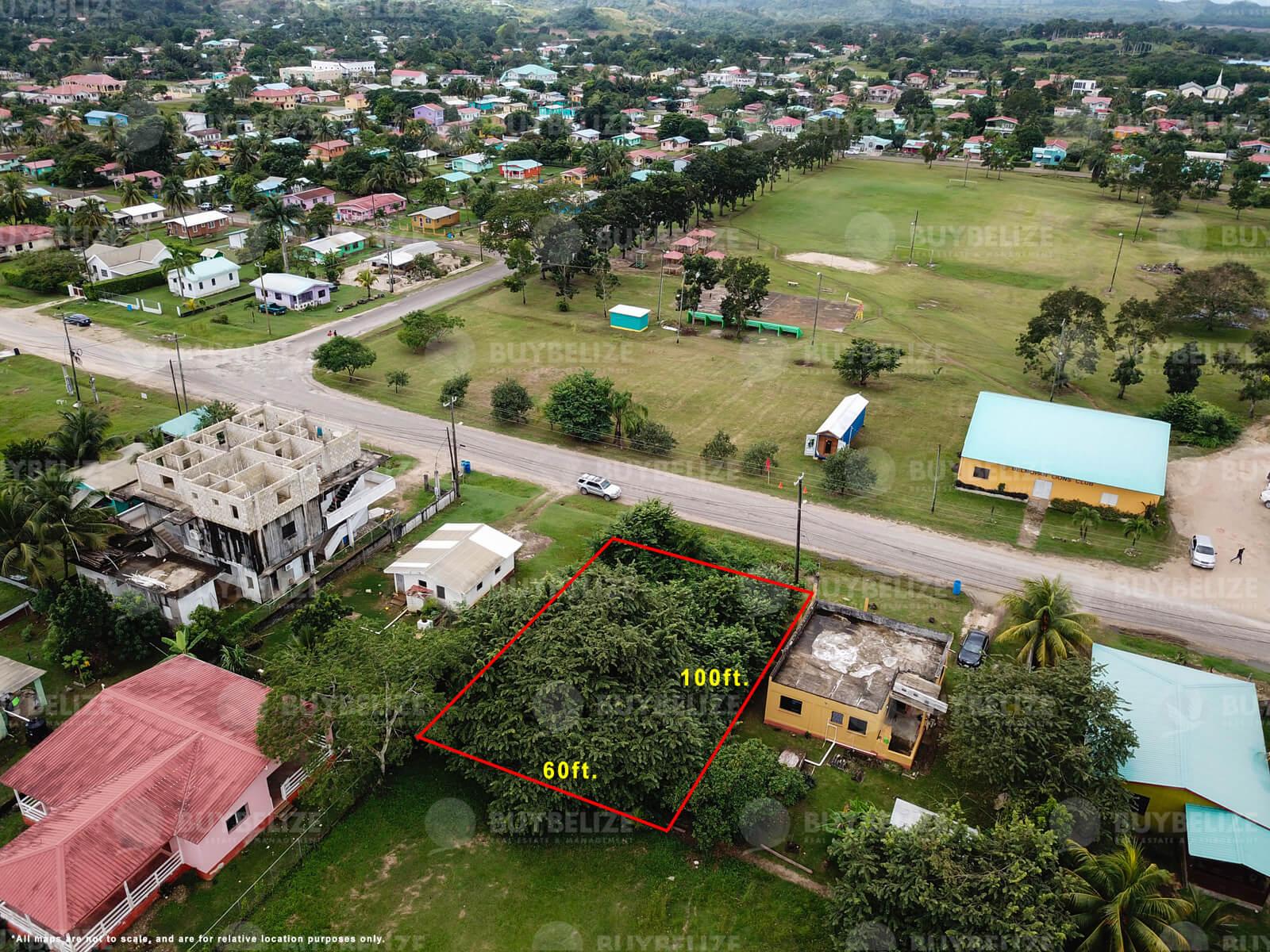 Prime lot for sale located on Belmopan City Belize