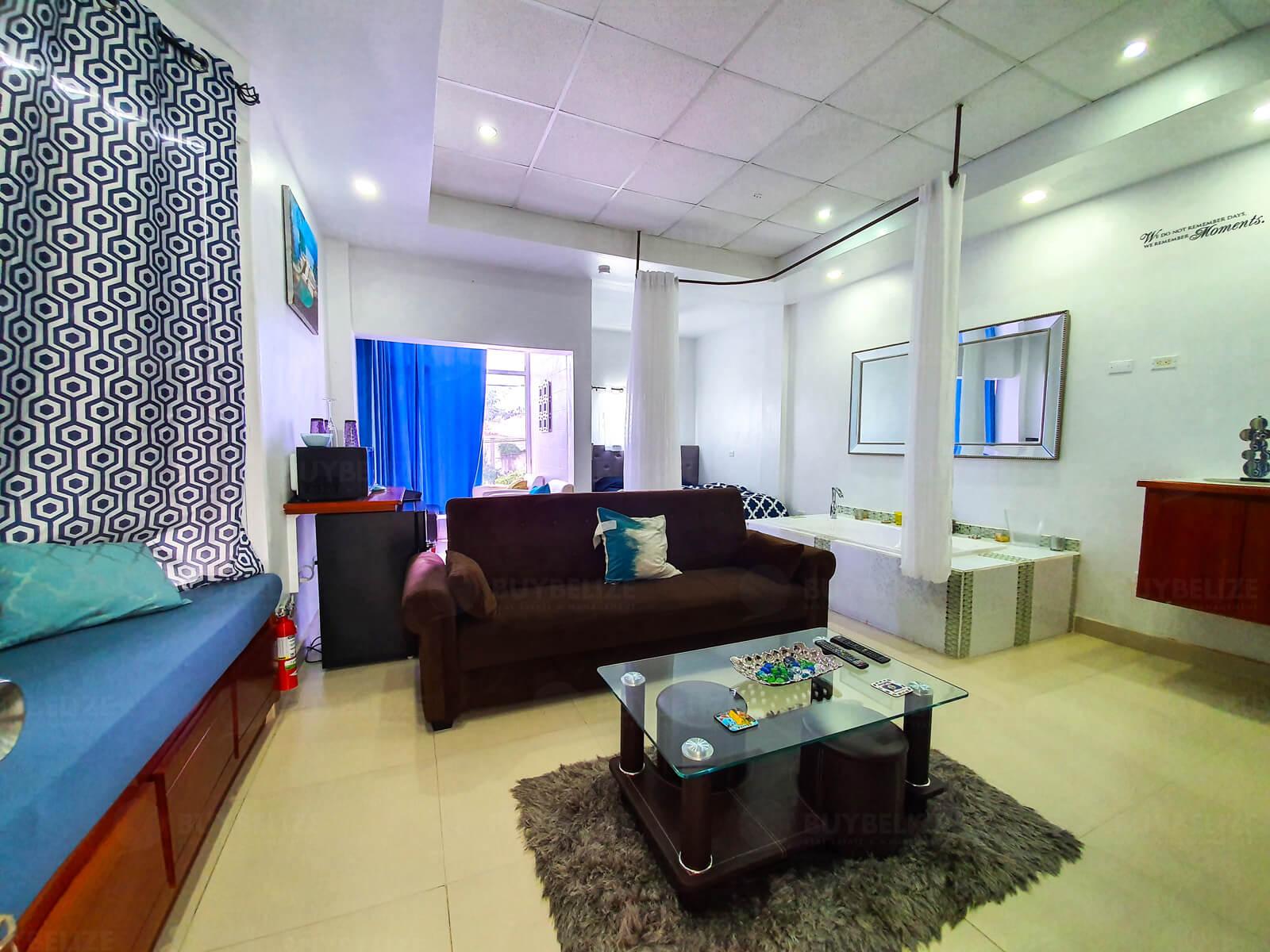 Beautiful Studio Apartment in Belize City for Rent