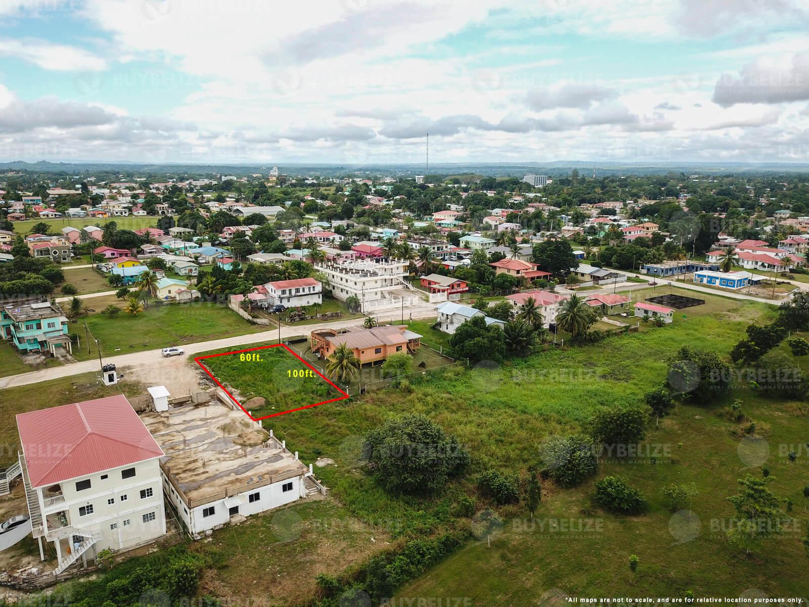 Large residential lot for sale in Belmopan City Belize