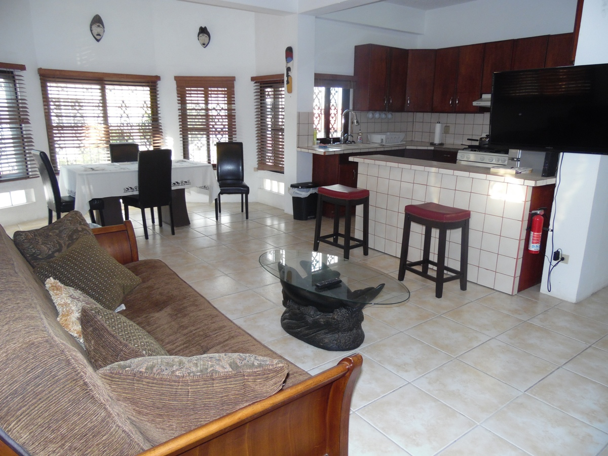 Furnished 1 Bed Apartment for Rent in Belize City