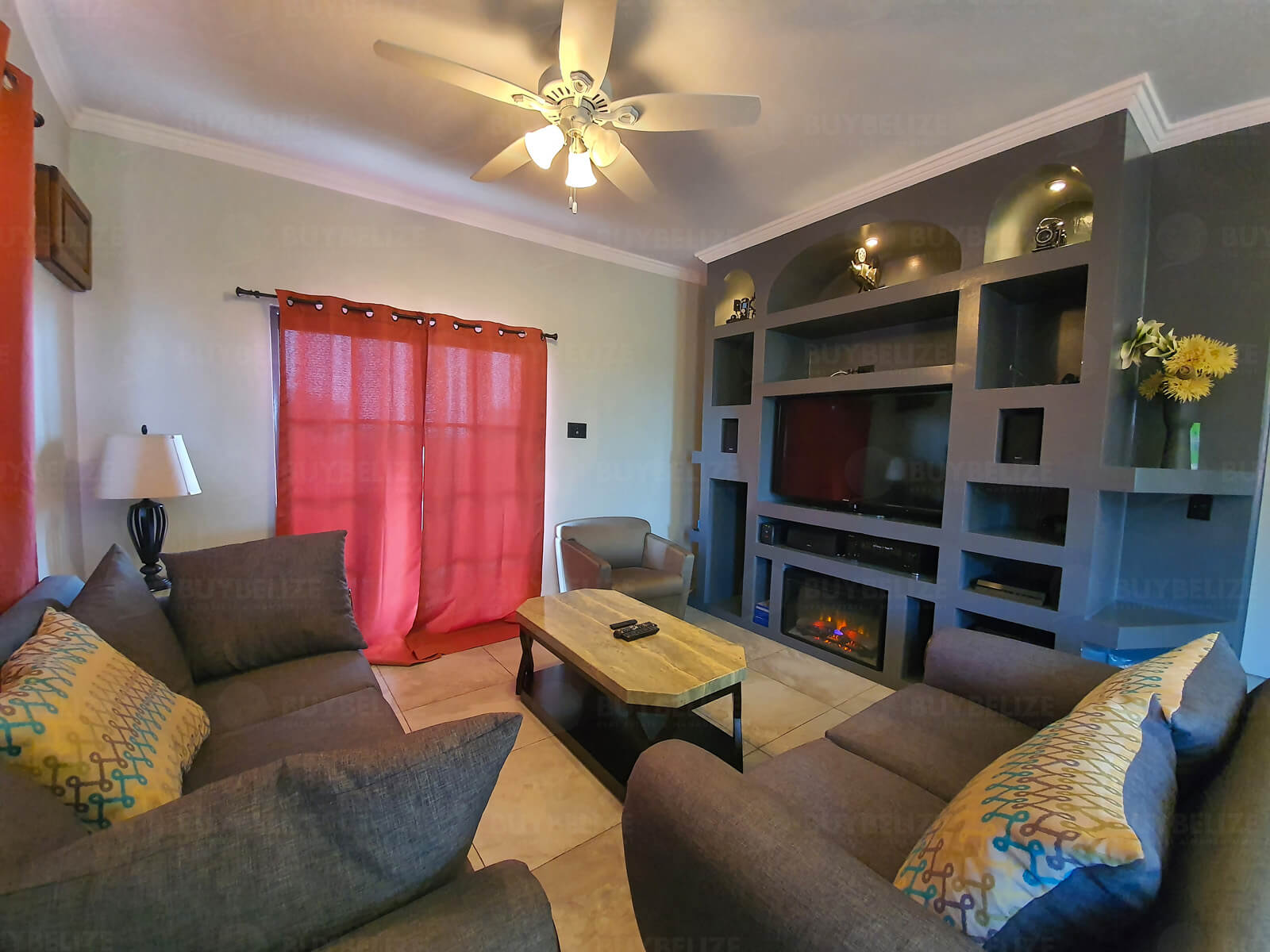 Beautiful Fully Furnished 2 Bed 1 Bath Apartment for Rent in Sunset Park Belize