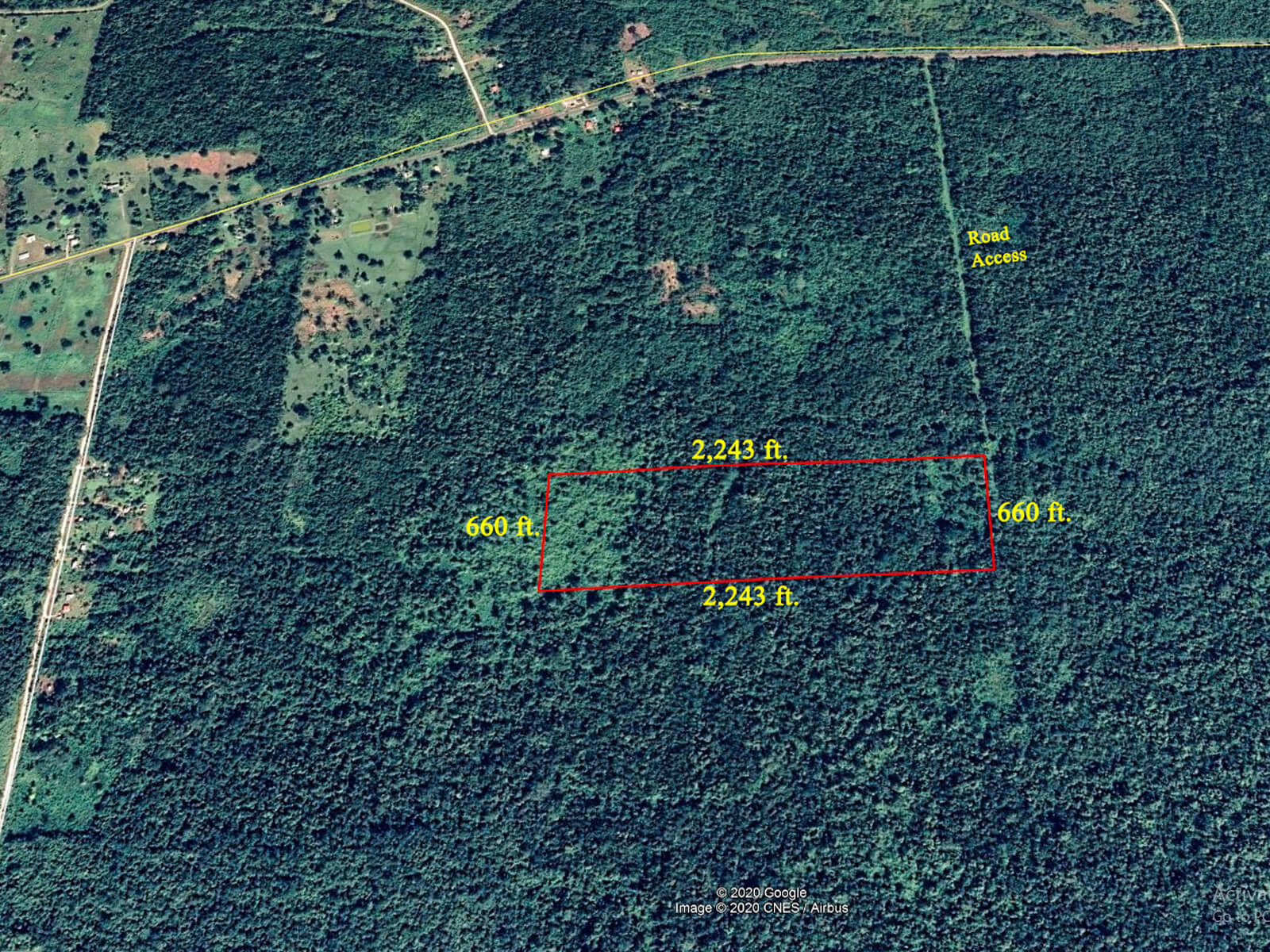 34 acres of Pristine Land for Sale in Belize District