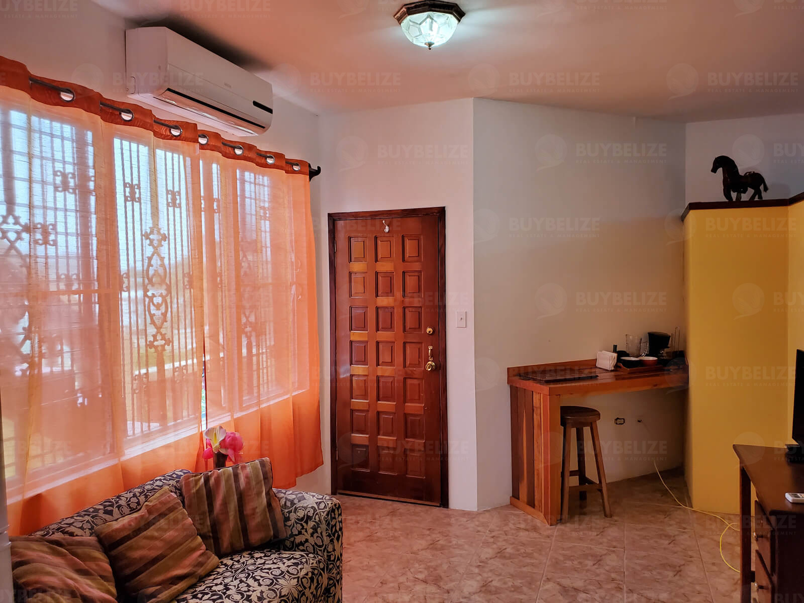 Furnished 1 Bed 1 Bath Apartment for Rent in Belize City