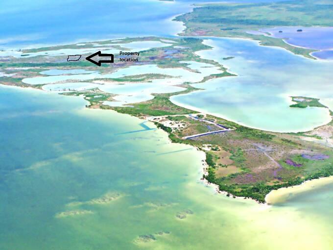 10.5 Acres of land on Bracillette Caye