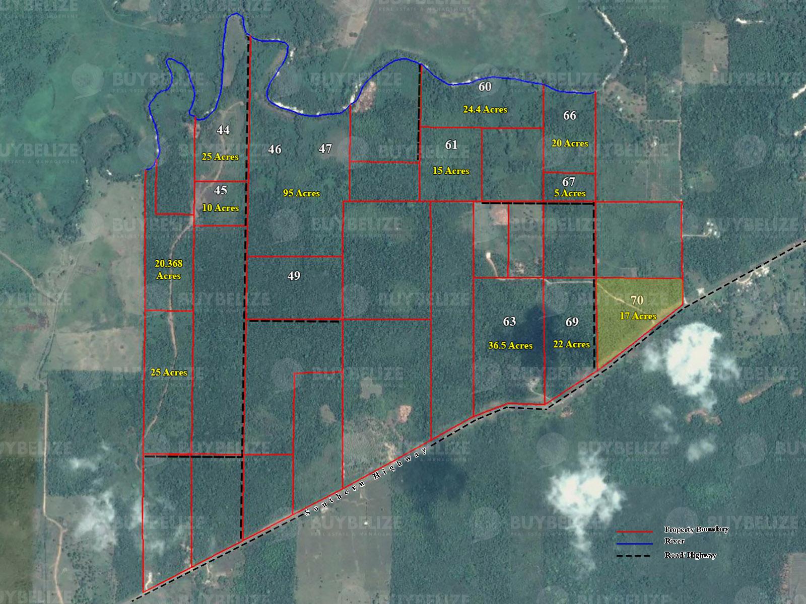 17 Acres Of Highway Land For Sale Near Big Falls, Toledo