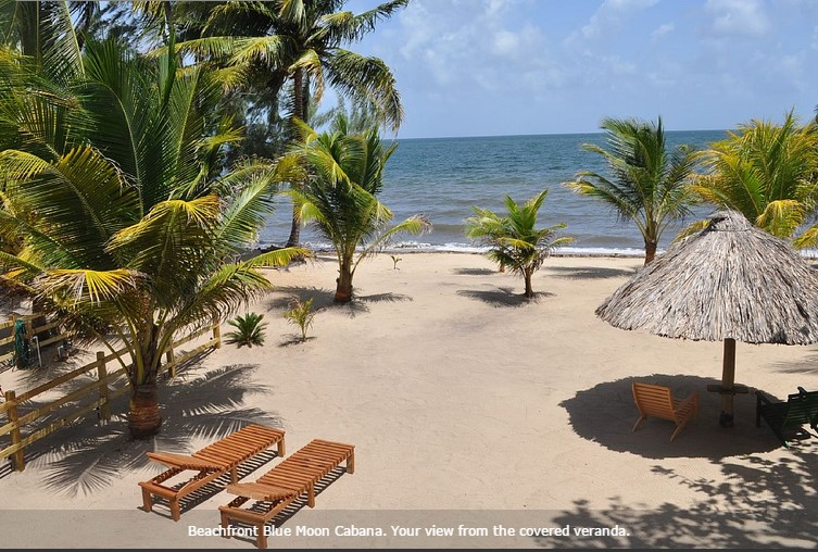 Fully Furnished 2 Bed 1 Bath Beachfront Condo