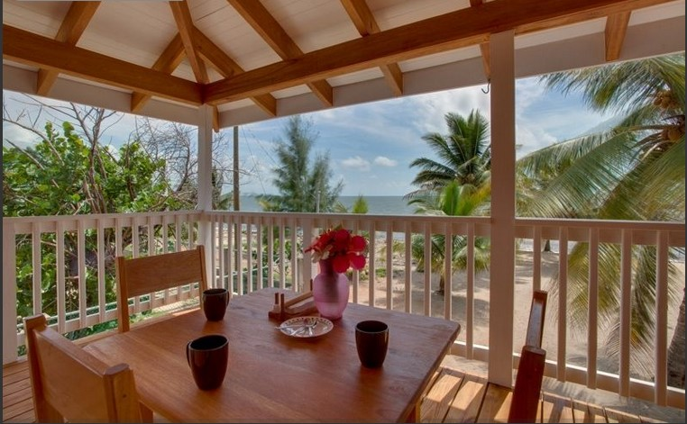2 Bed 1 Bath Fully Furnished Beachfront Condo