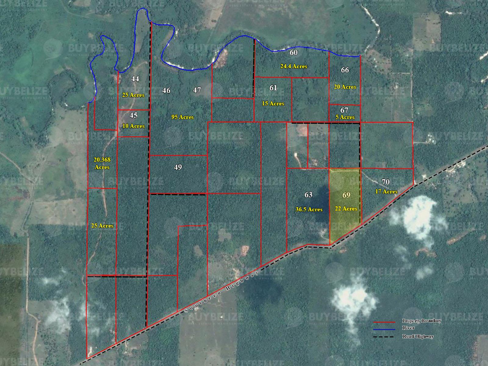 22 Acres Of Highway Side Land For Sale Near Big Falls, Toledo