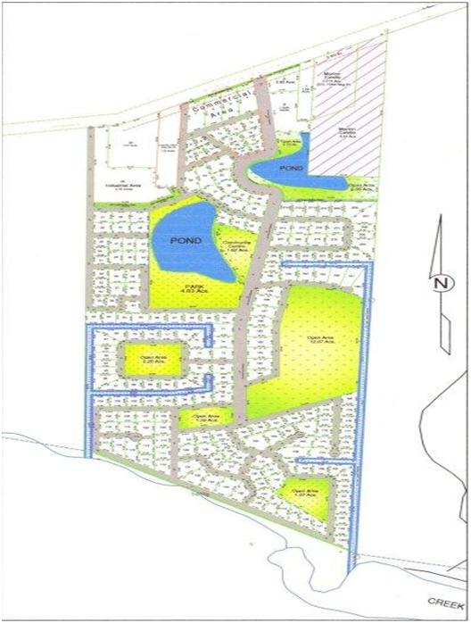 Housing Project for New Community 120 Acres
