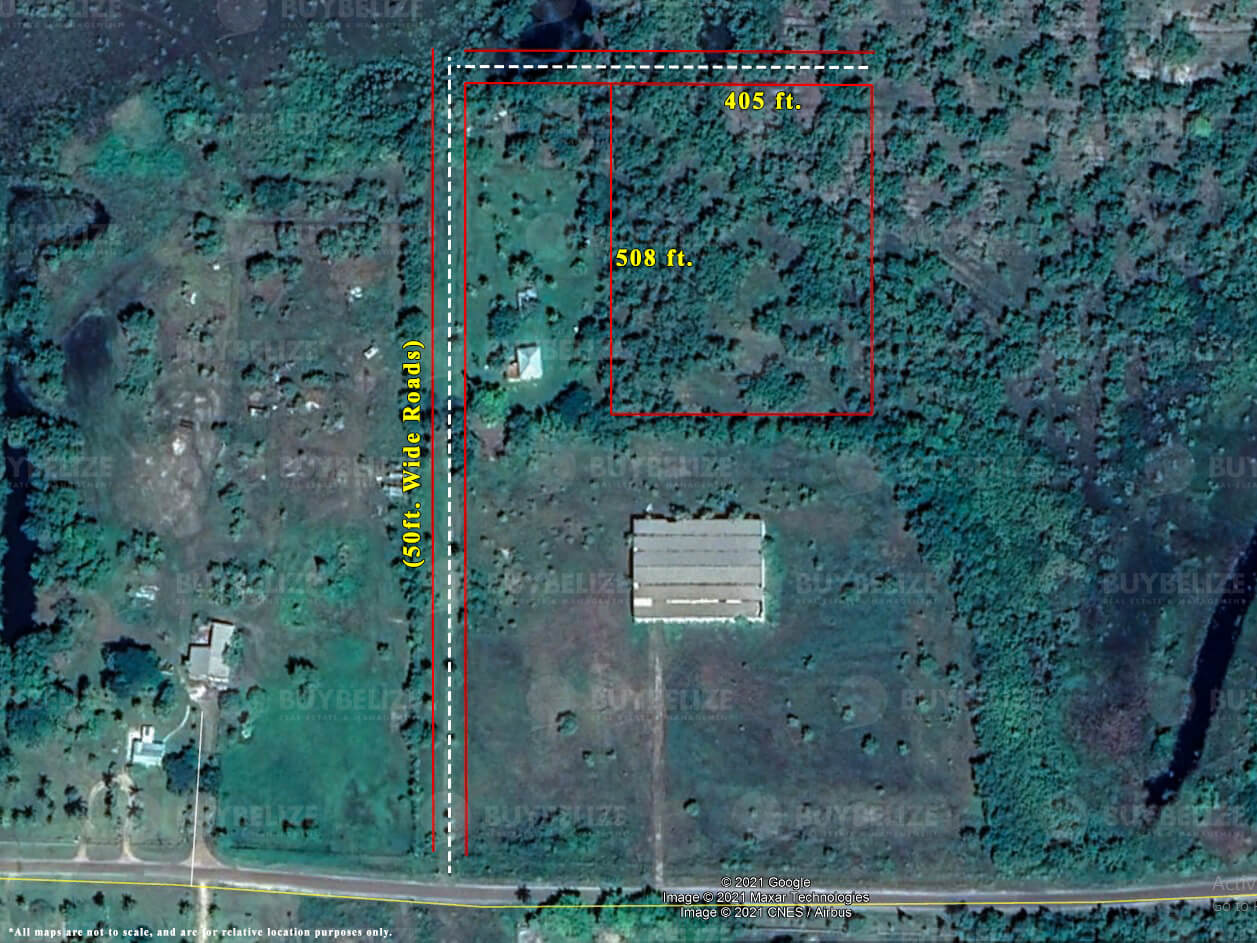 Land for Sale in Burrell Boom Belize