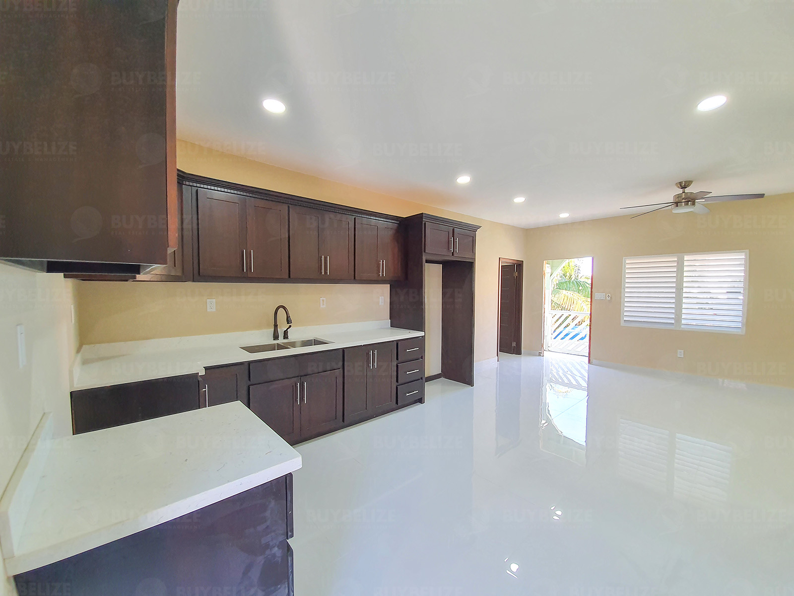 Beautiful 3 Bed 2 Bath House for Rent in Belama Phase 1, Belize City