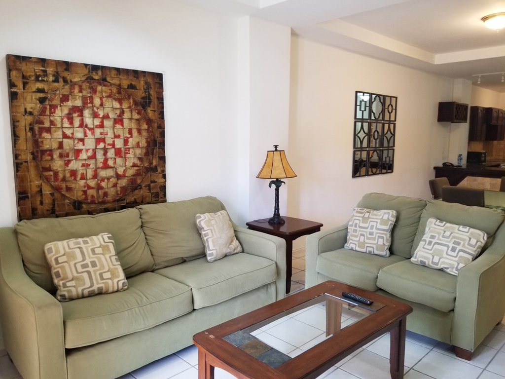 Furnished 2 Bed Apartment Condo for Rent in Belize City