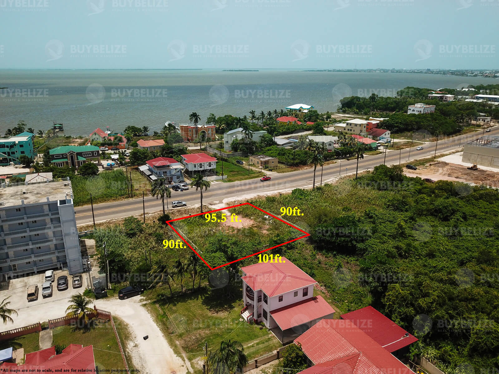 Large Land for Sale in Belize City