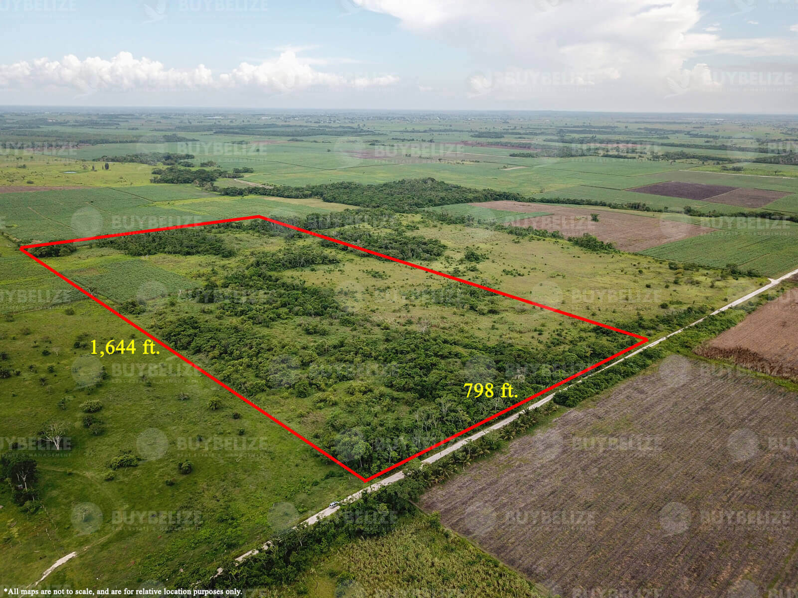 30 Acres of Prime Agricultural Land for Sale in Orange Walk District