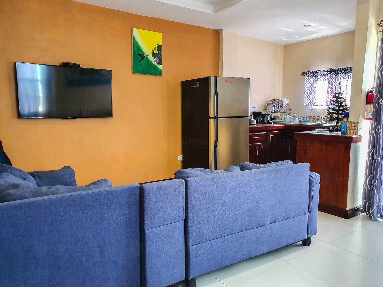 2 Bed 1 Bath  Apartment for Rent in Belize City
