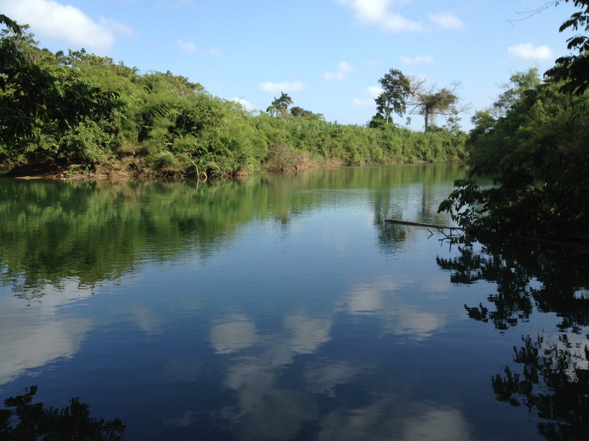 23 Acres on the Sibun River for Sale in Belize