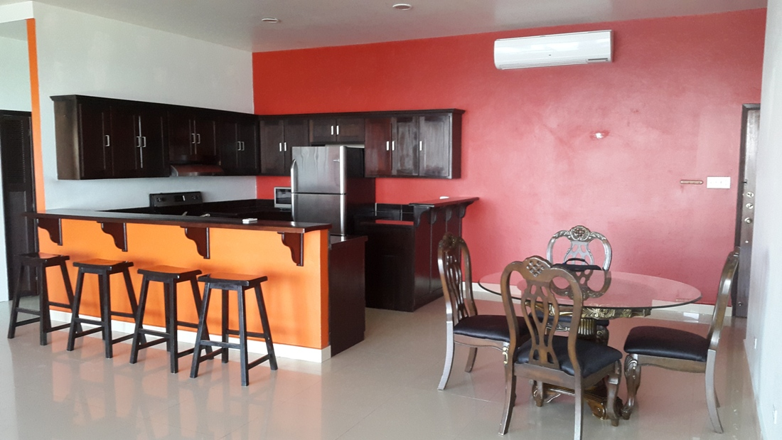 Furnished & Modern 2 Bed Apartment for Rent in Belize City