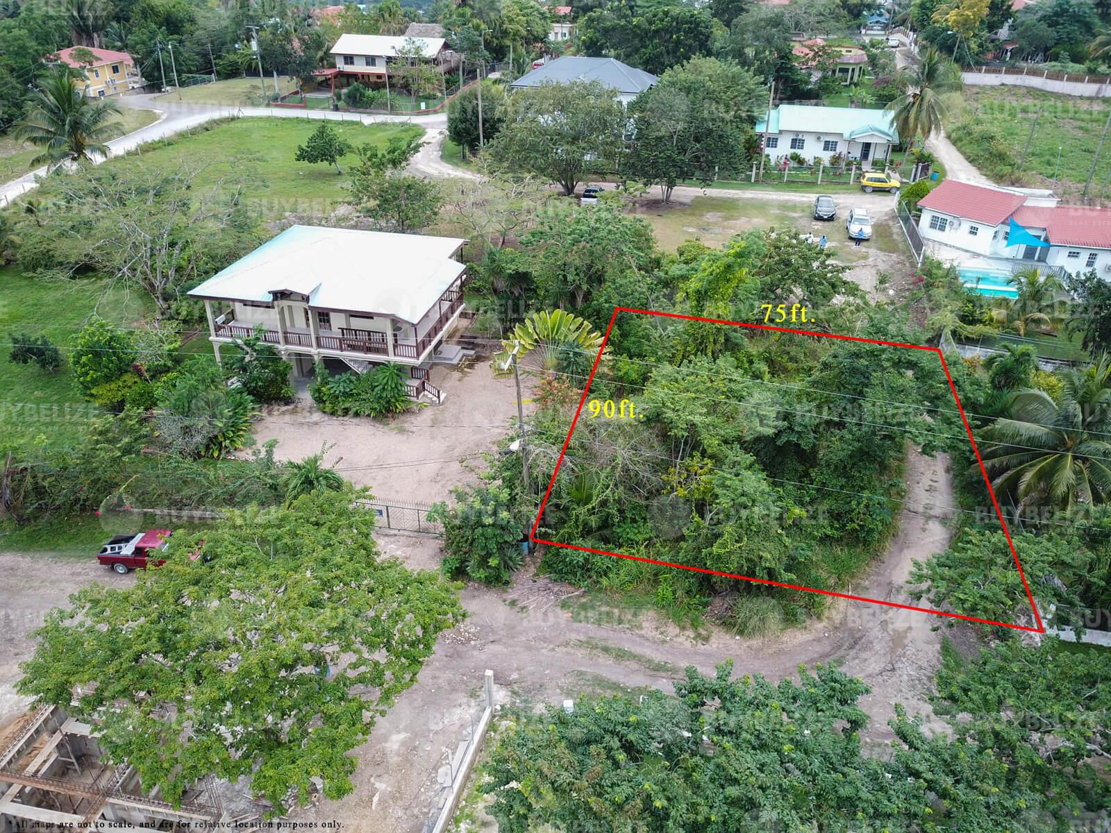Beautiful Residential Lot for Sale in San Ignacio Town, Cayo, Belize