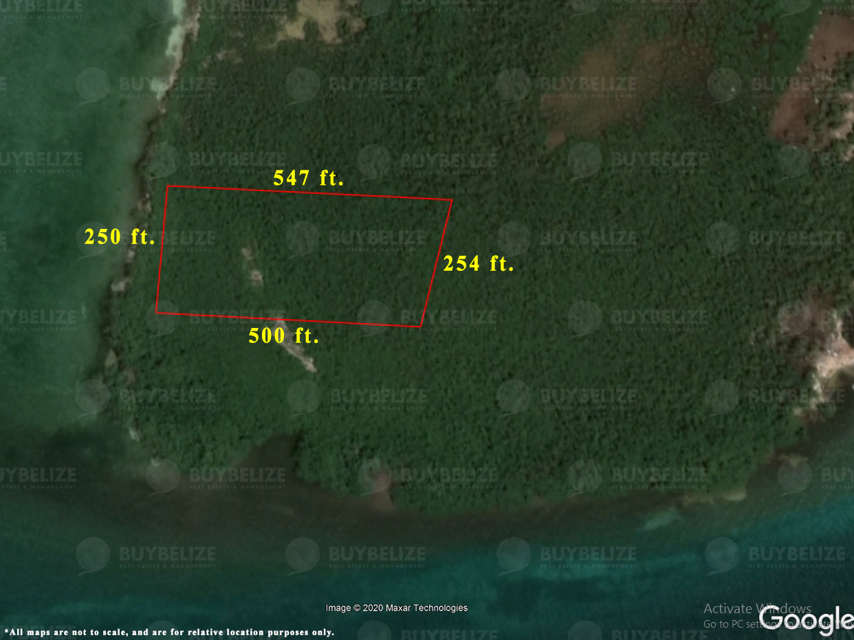 3 Acre Beachfront Island Property for Sale in Belize