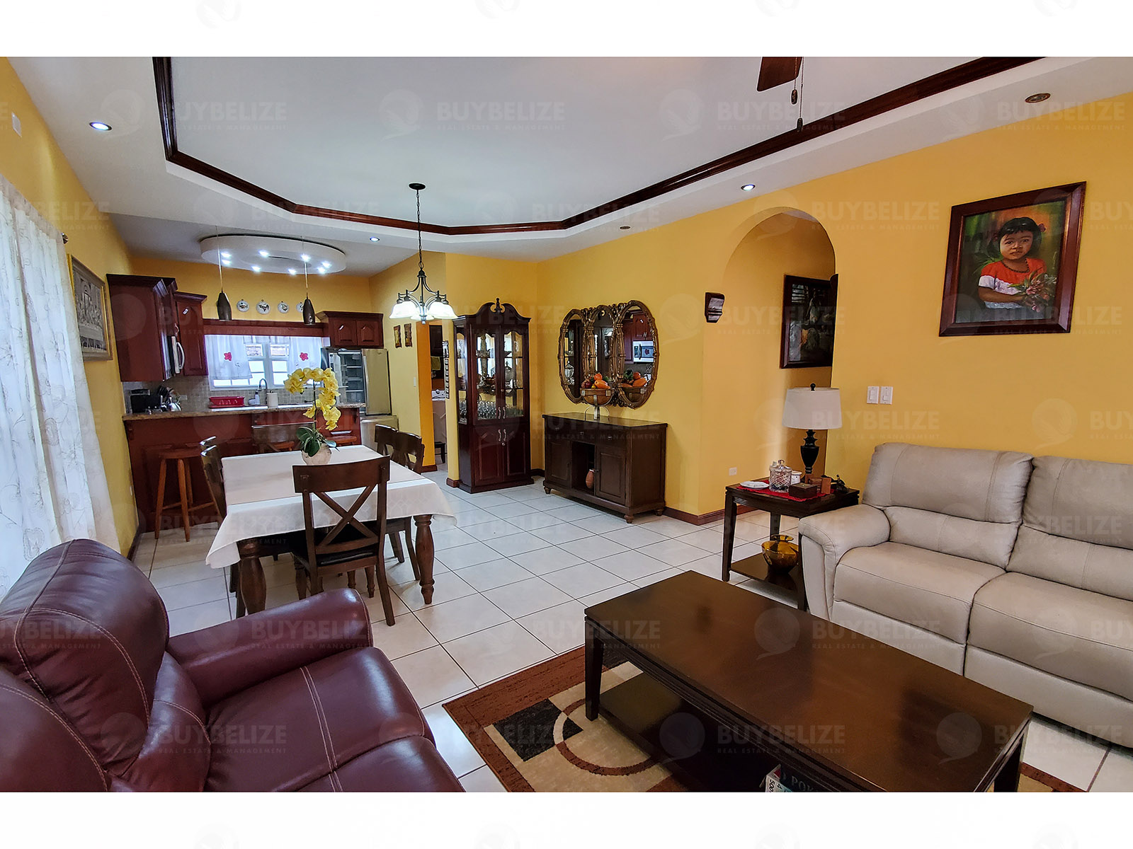 Beautiful 4 Bed 3 Bath House for Rent in San Ignacio, Cayo