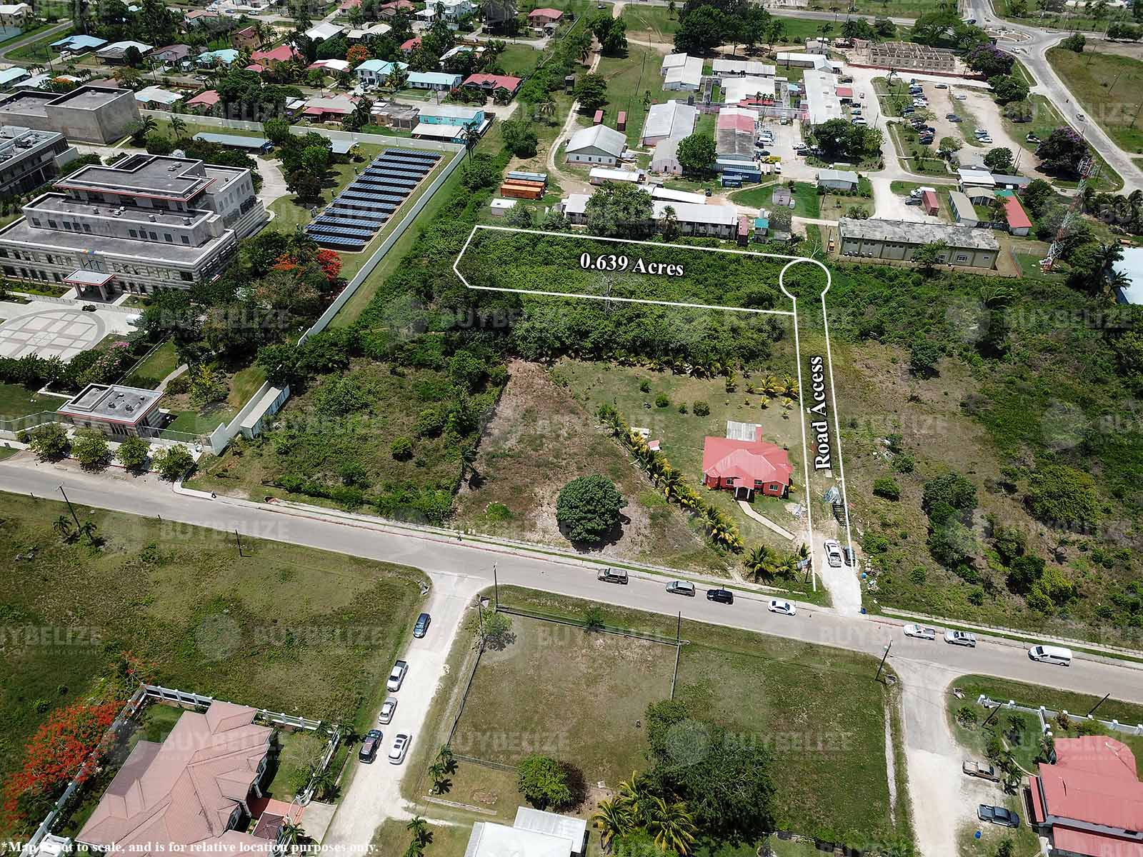 Large Residential or Commercial Land for Sale in Belmopan City