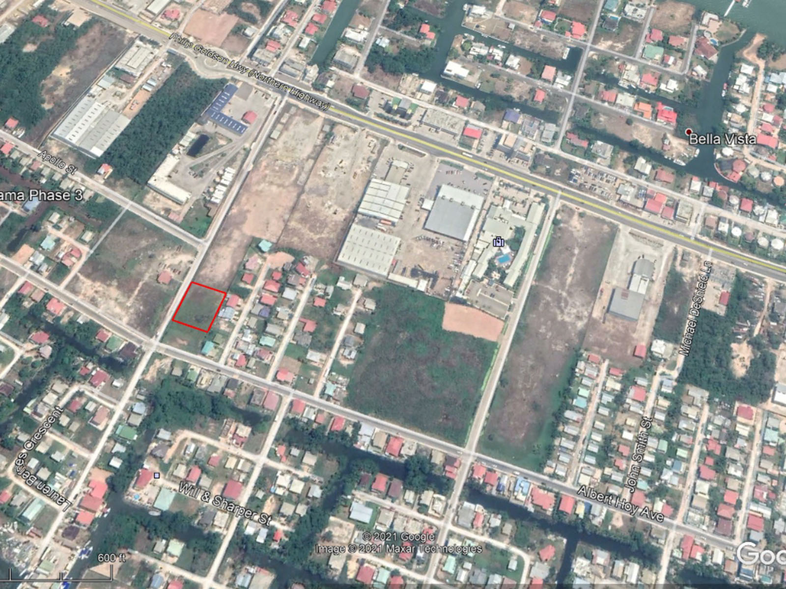 Large lot for sale in Belama Phase 2