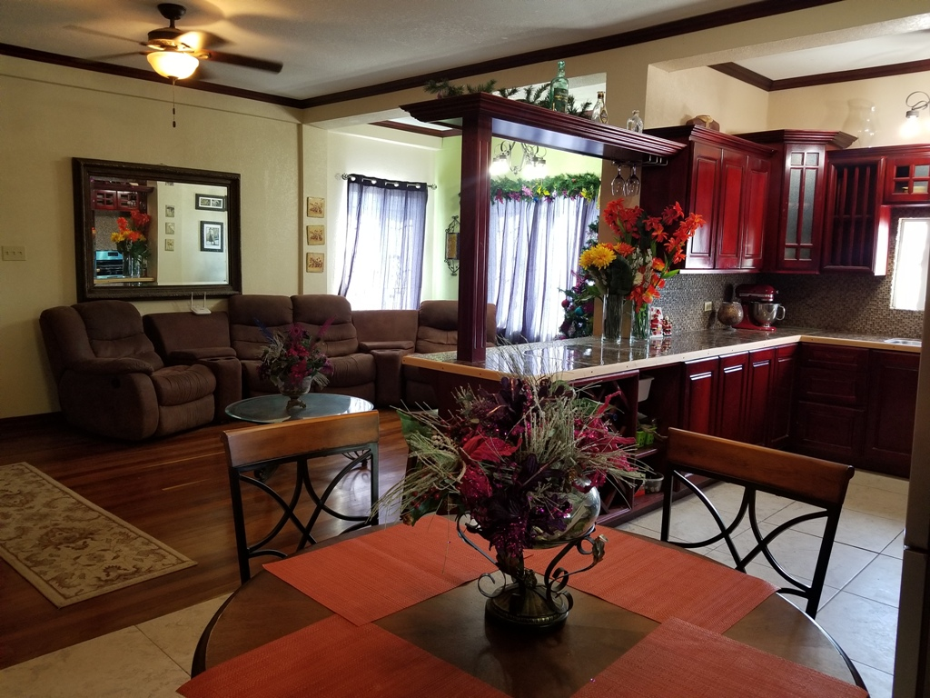 Furnished 2 Bed 1 Bath Apartment for Rent in Belize City