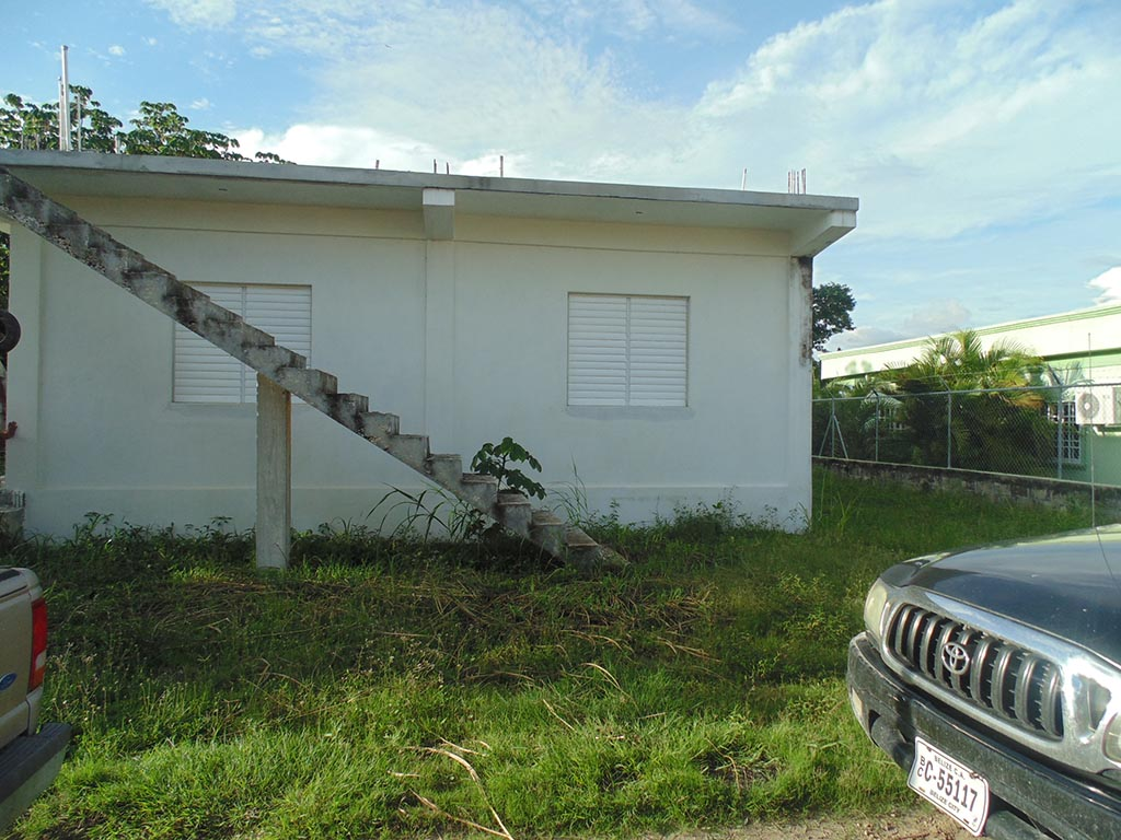Incomplete Apartment Building in Corozal