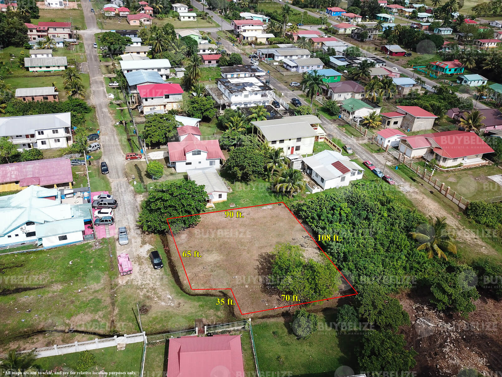 Large Lot in Belmopan City For Sale