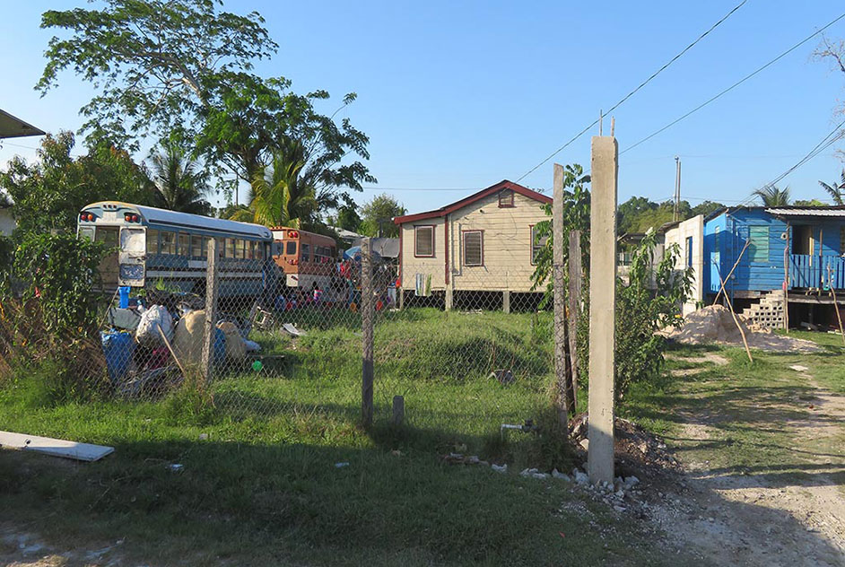 Fenced Lot in Orange Walk Town