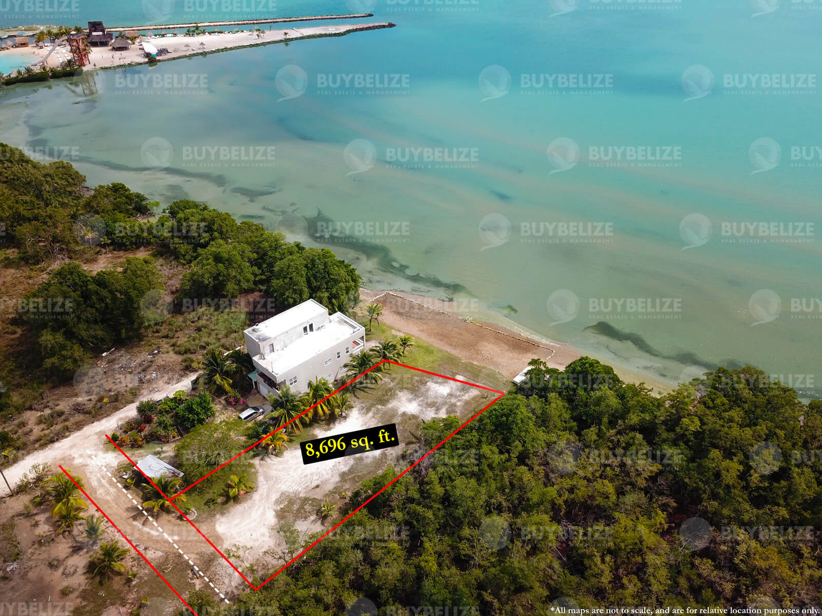 Beachfront Property in Belize City For Sale