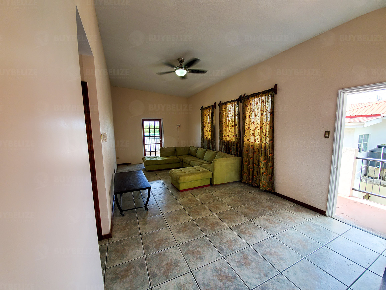 Furnished 3 Bed 2 Bath House for Rent in Belize City