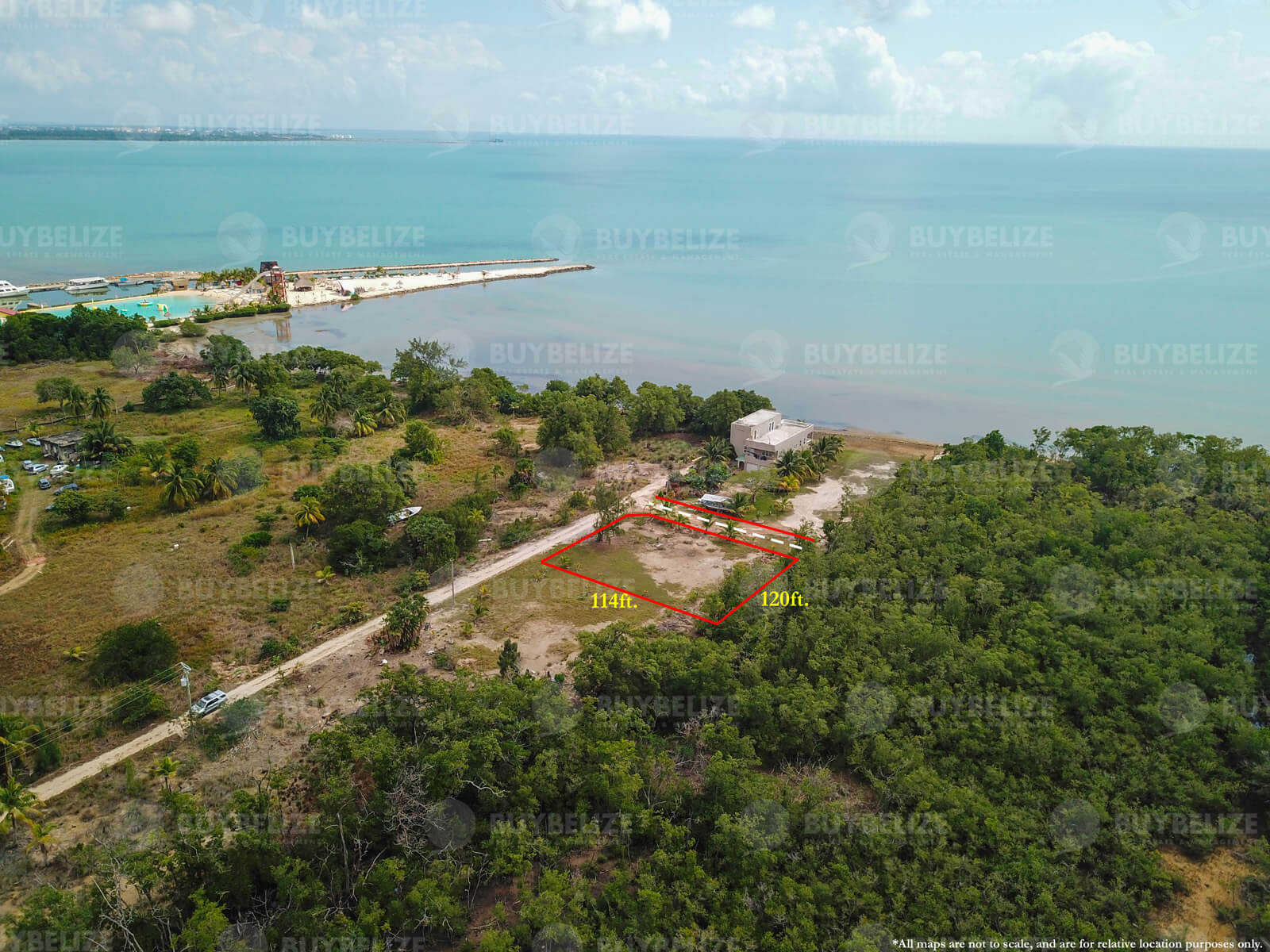 Sea view lot in Belize City