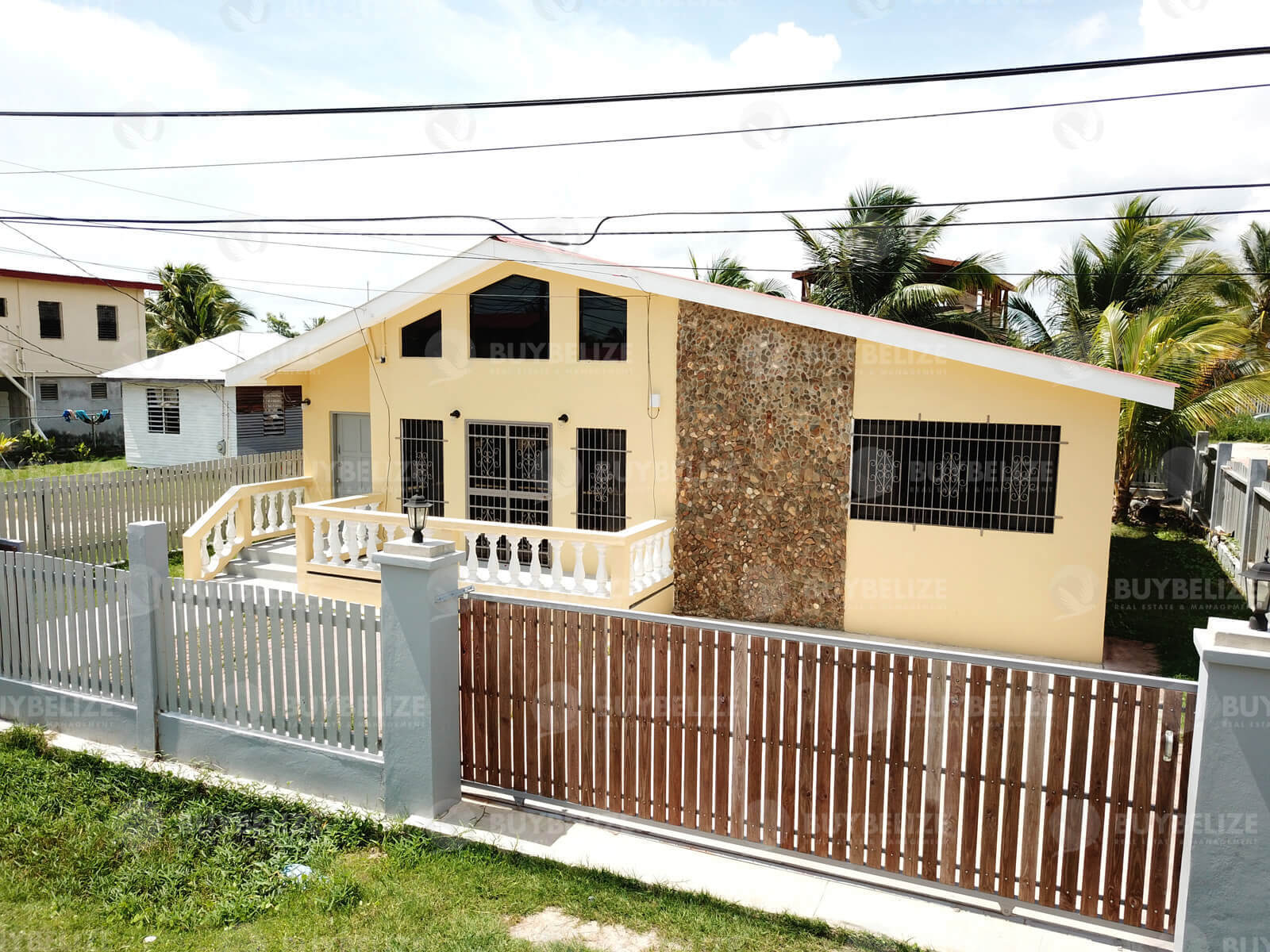 Unfurnished 3 Bed House for Rent in Vista Del Mar Ladyville Belize