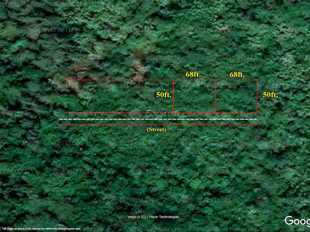 Two lots for sale in Vista Del Mar, Ladyville Belize