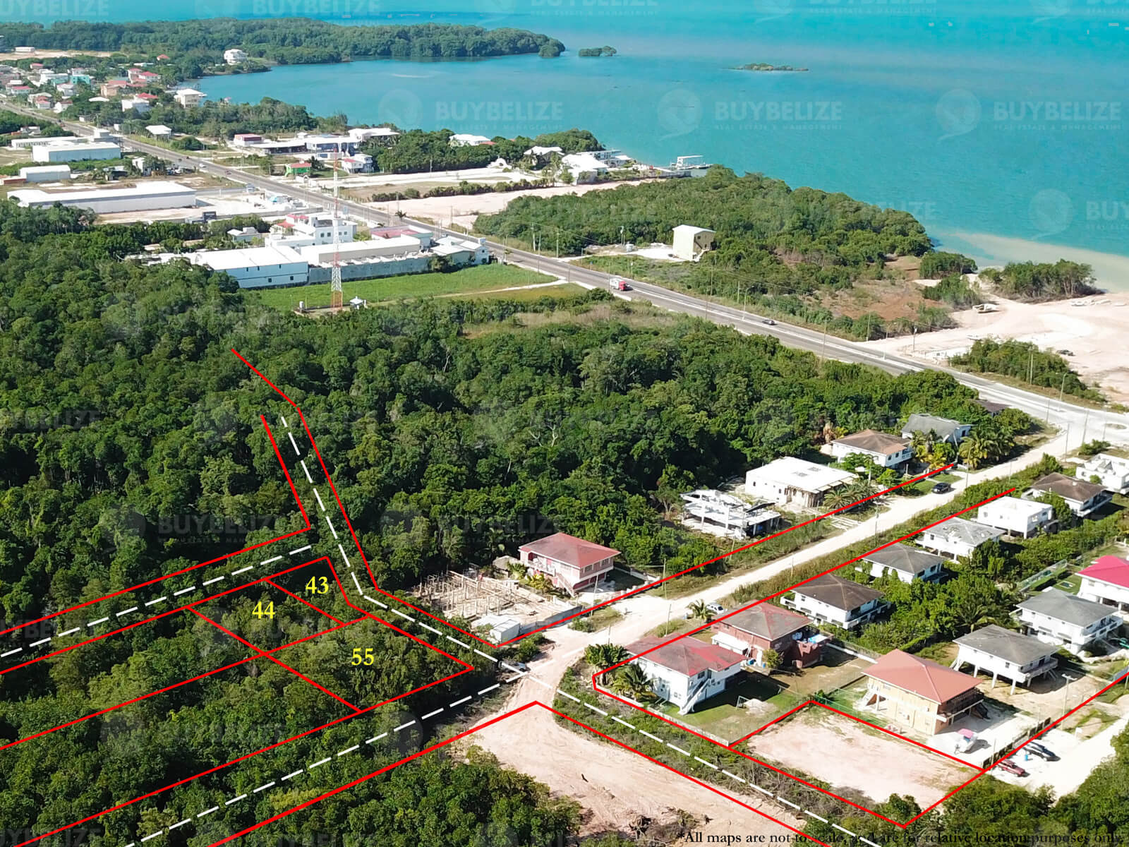 Three properties for Sale in Belize City