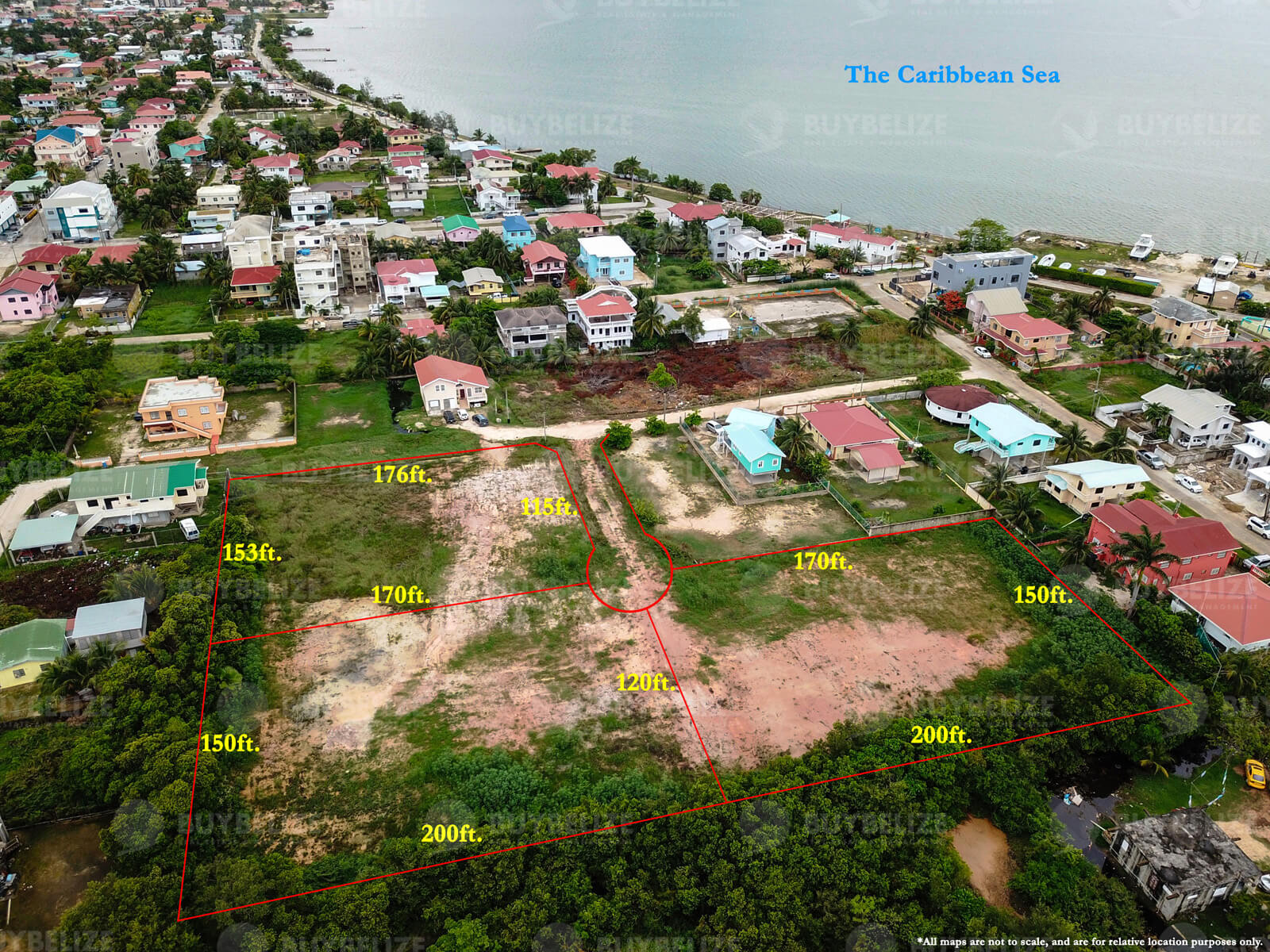 0.6 Acre Land for Sale in Belize City
