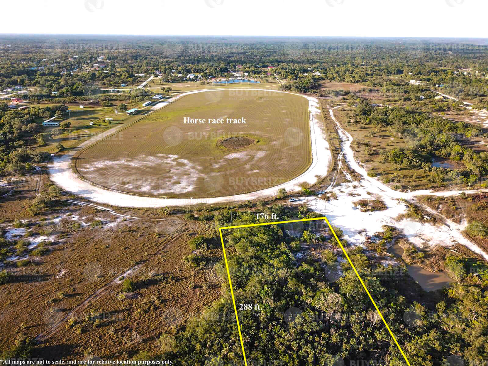 Land for Sale in Burrell Boom Belize District