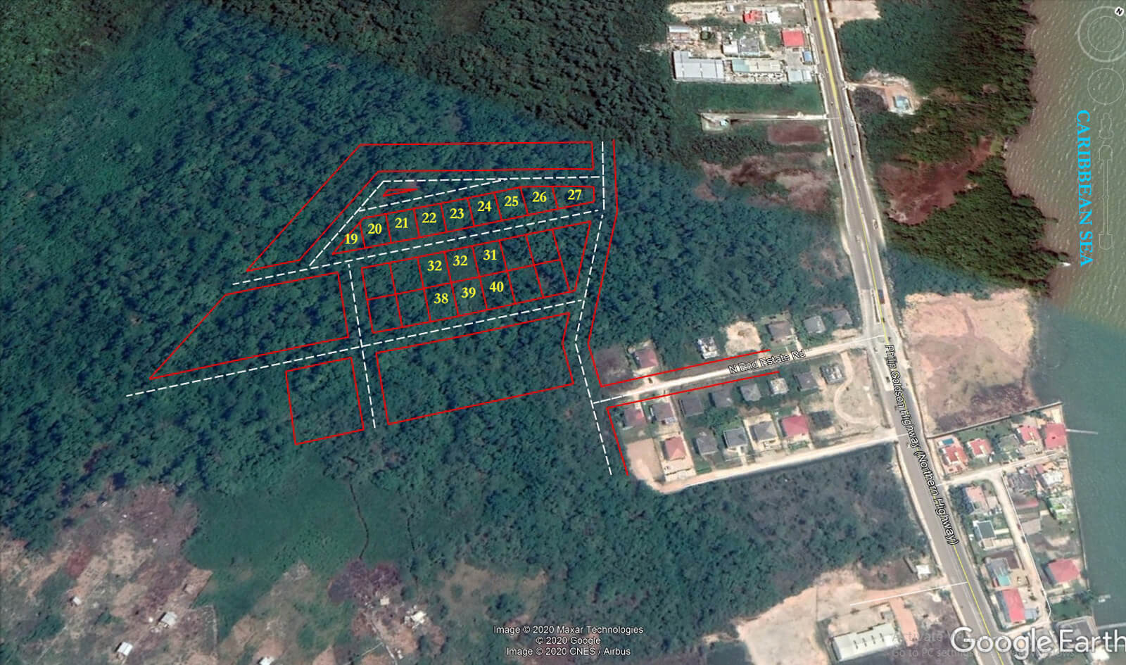 15 lots for sale in Belize City