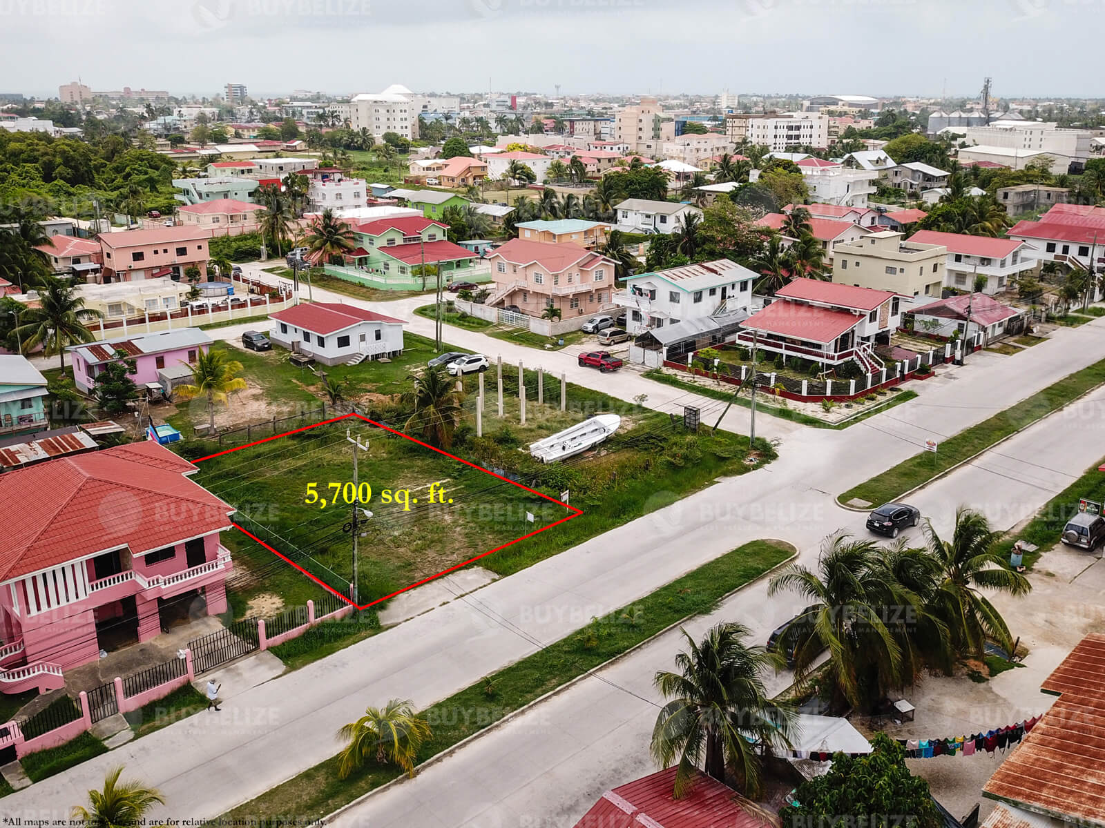 Land for Sale in Belize City