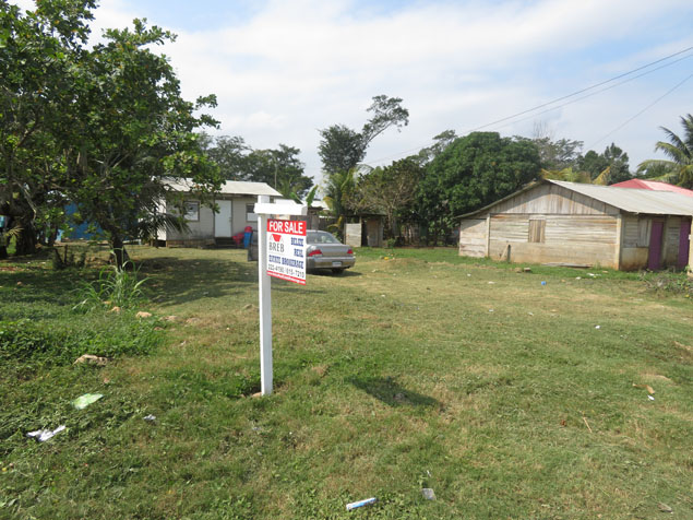 Residential Lot with Two Bedroom House for Sale in the City of Belmopan