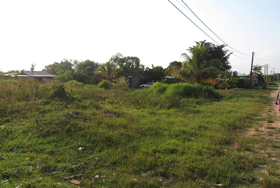 Vacant Lot for Sale in the City of Belmopan