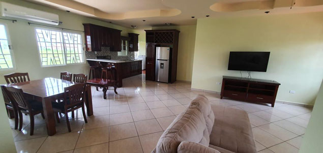 Beautifully Designed Furnished Bungalow House in the Garden City of Belmopan
