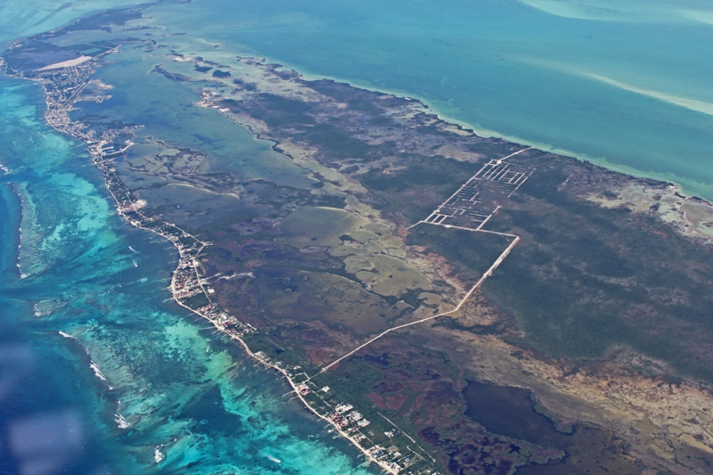 Large Residential/Commercial Lot only two lots from the sea north of Secret Beach and Grand Belizean Estate