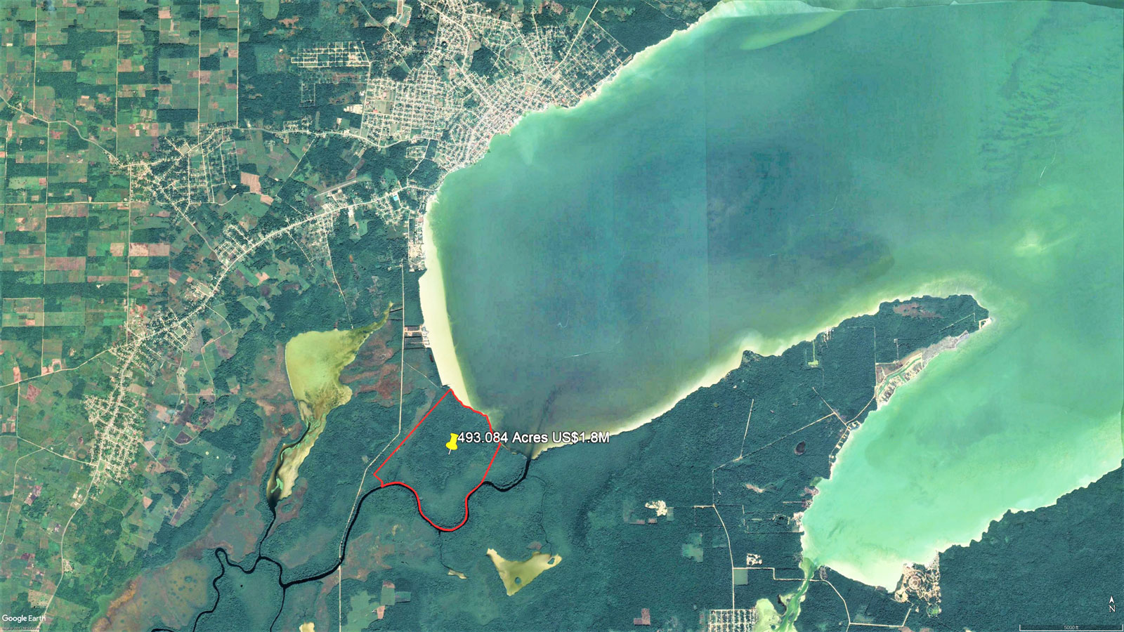 Pristine 493 Acres with Sea and River Frontage