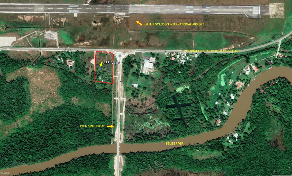 4.55 Acres Prime Property Near International Airport