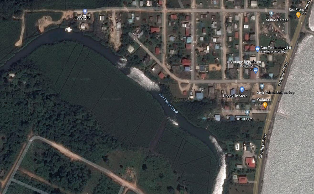 1 Acre Plot of Land on Joe Taylor Creek, Punta Gorda Town
