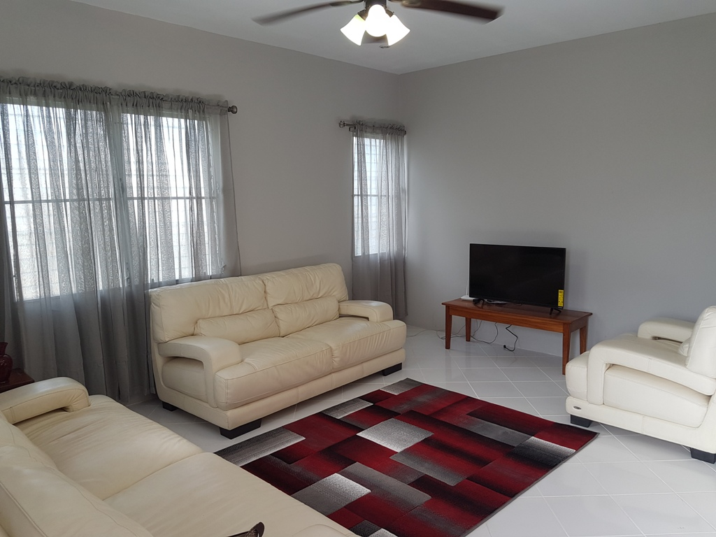 Furnished House for Rent in Belize City
