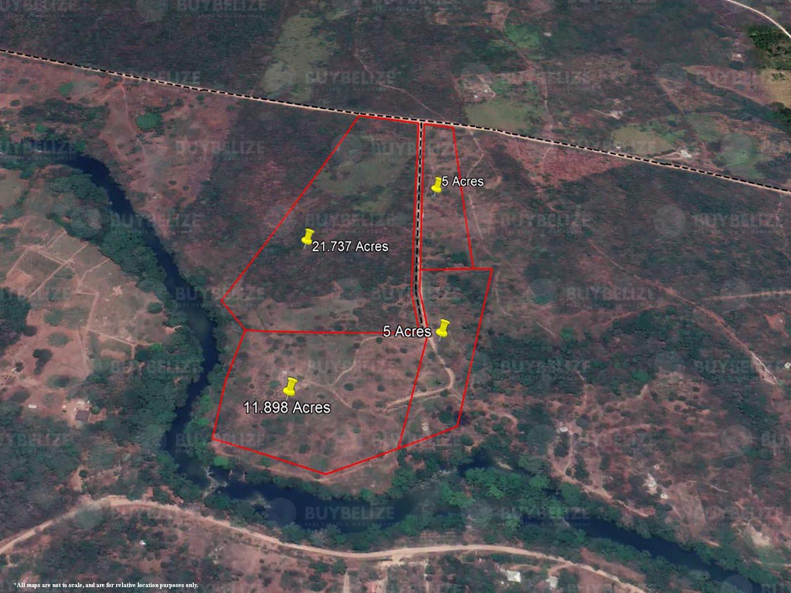 43 Acres of land in Bullet Tree